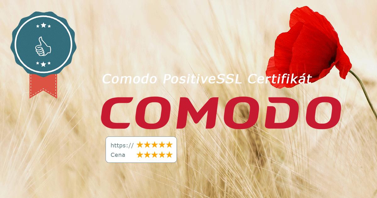 Recenze Comodo PositiveSSL Certifikátu