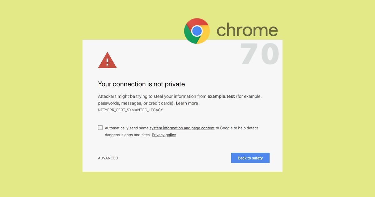 Chrome 70 znepřístupní několik stovek .cz a .sk domén