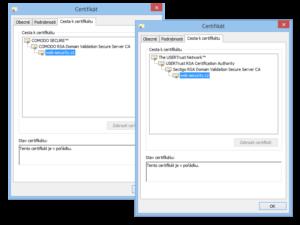 Změna Root certifikátu Sectigo CA